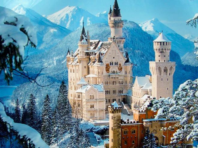 Топ - 3 Самые красивые замки мира