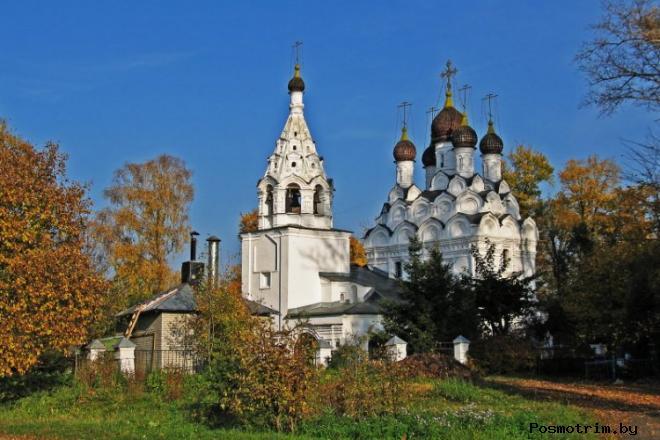 Храм Сергия Радонежского Комягино