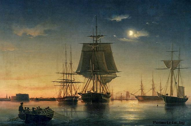Возведение форта Кроншлот - начало строительства крепости Кронштадт
