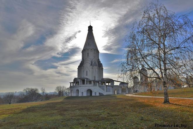 Освящение церкви Вознесения в селе Коломенском