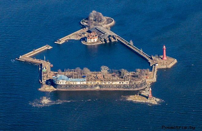 Форт Кроншлот модернизация 18 века