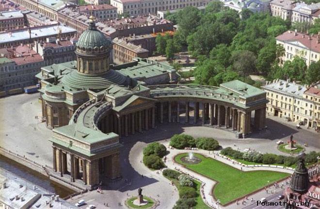 Казанский собор от освящения до революции 1917 года