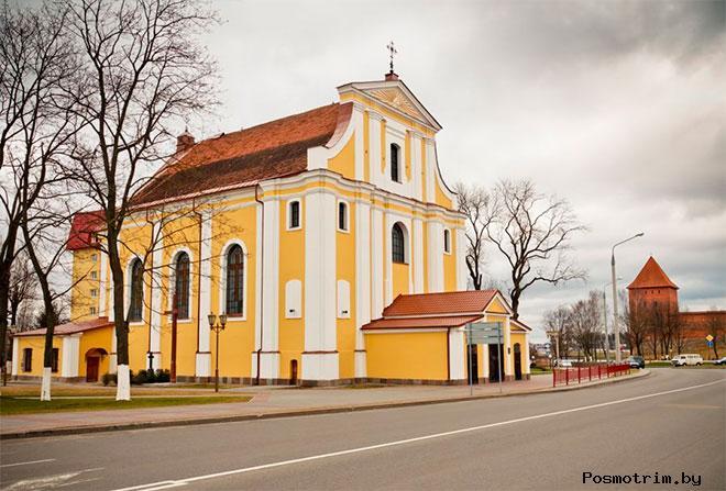 Церковь Воздвижения Святого Креста Лида (Крестовоздвиженский костел)