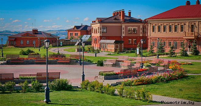 Рождественская площадь Свияжск