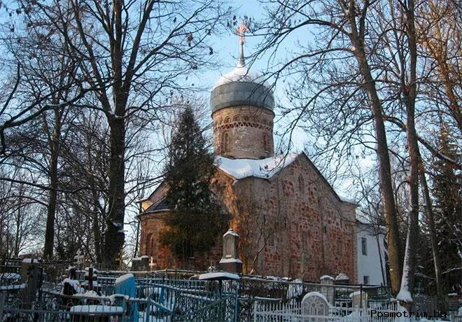 Церковь Рождества Христова на Красном поле Великий Новгород