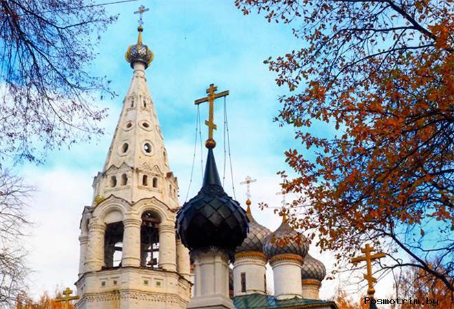 Архитектура церкви Иоанна Богослова в Костроме