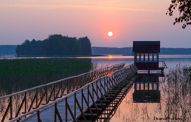 Национальный парк «Браславские озера» туристические стоянки