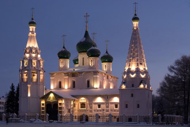 Архитектура церкви Илии Пророка в Ярославле