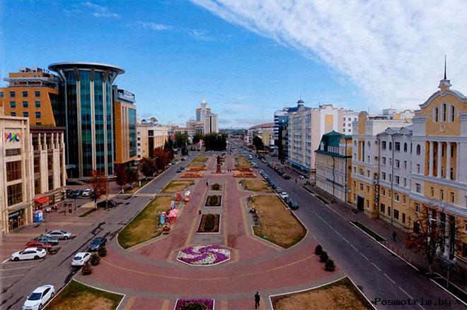 Соборная площадь Саранск