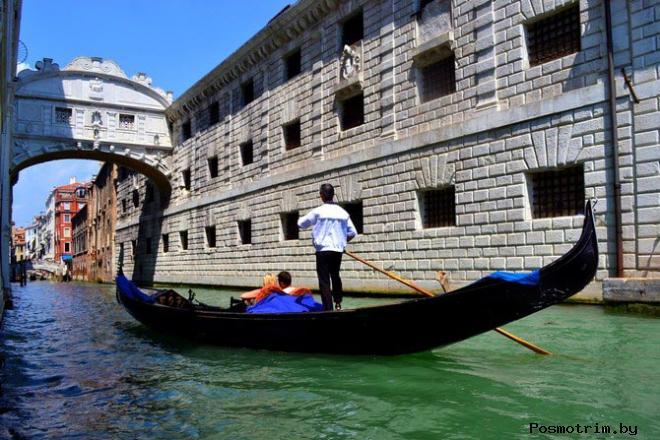 Мост вздохов Венеция фото легенда