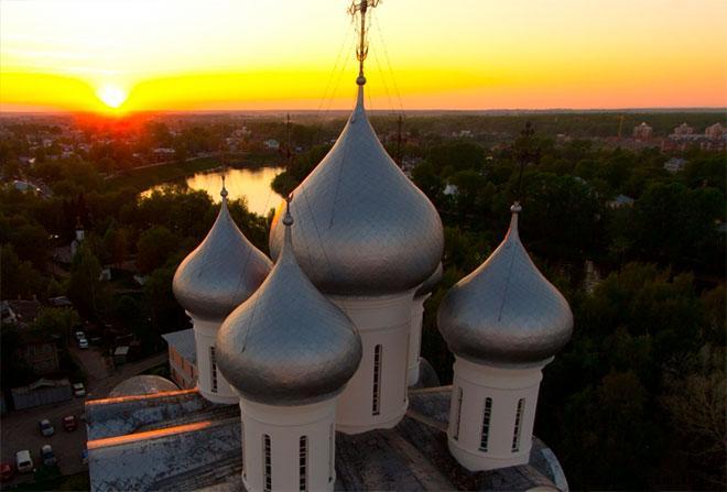 Купола Вологодской Софии