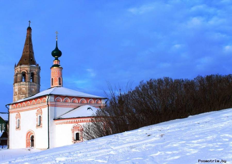 Никольская церковь кремля в Суздали