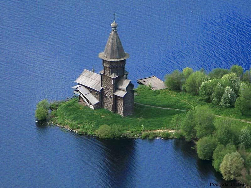 История Успенской церкви в Кондопоге