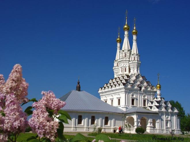 Церковь Одигитрии Смоленской в Вязьме богослужения контакты как добраться расположение на карте