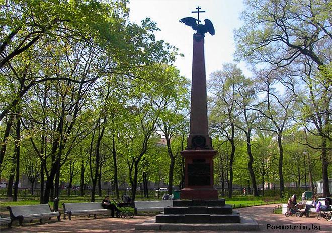 Николо-Богоявленского собор Петербурга Цусимский обелиск