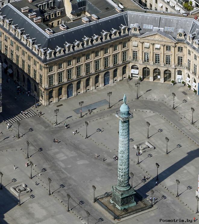 Строительство Вандомской площади