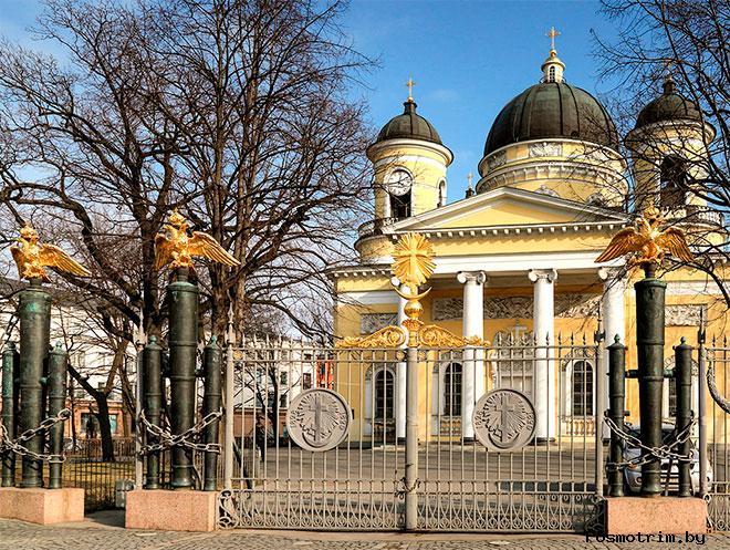 Преображенский собор в Петербурге - храм славы русского оружия