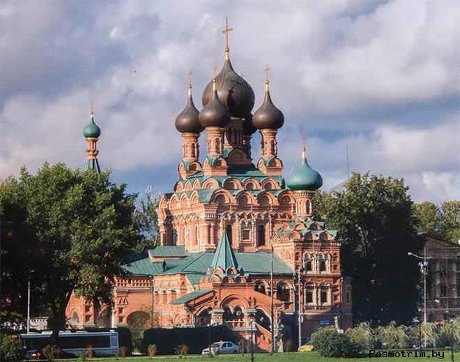 Храм Живоначальной Троицы Останкино