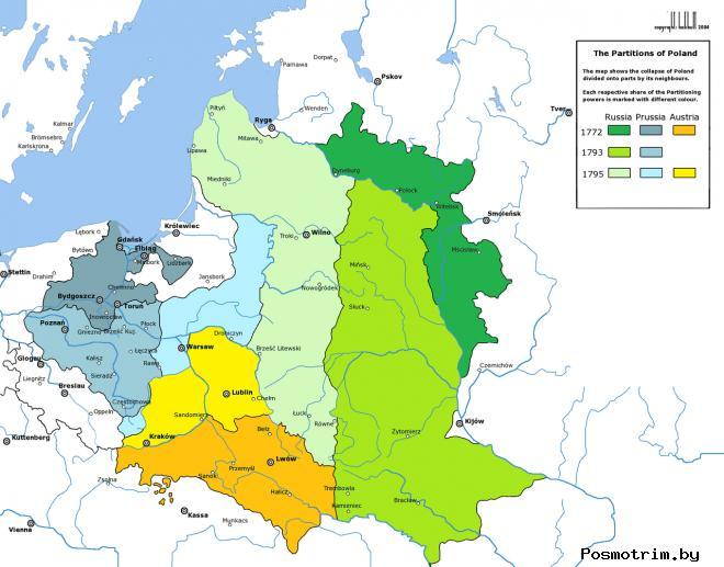 Причины раздела Польши