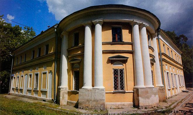 Флигель старинной усадьбы Прозоровских-Бекетовых в Зюзино.
