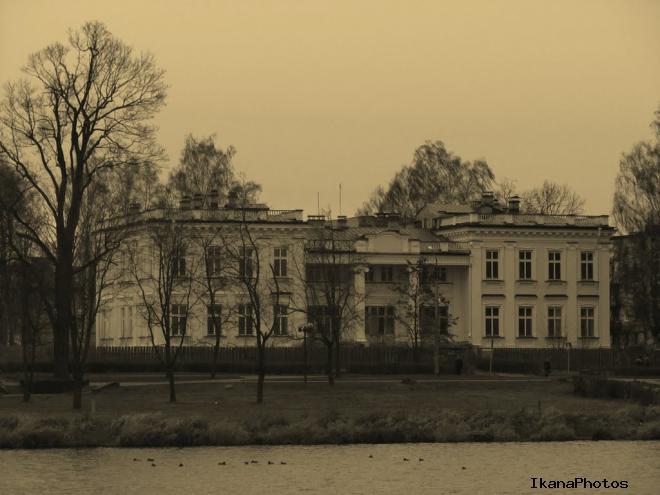 Дворец Друцких-Любецких в Щучине Щучинский дворец