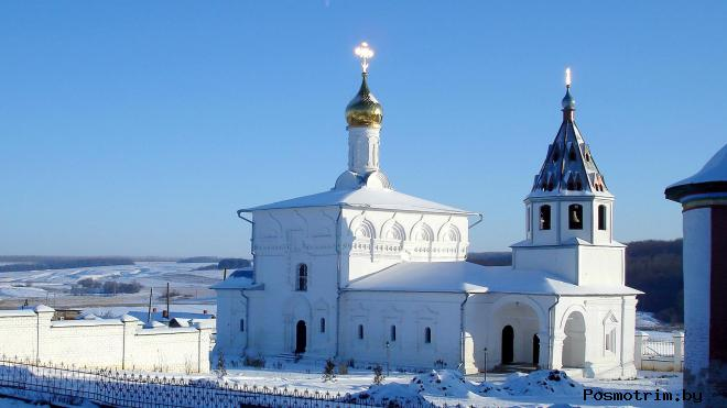 Успенский Космин монастырь Небылое