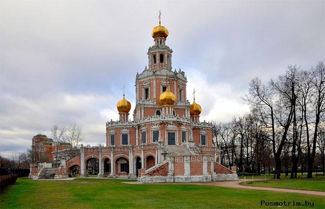 Архитектура церкви Покрова Богородицы в Филях