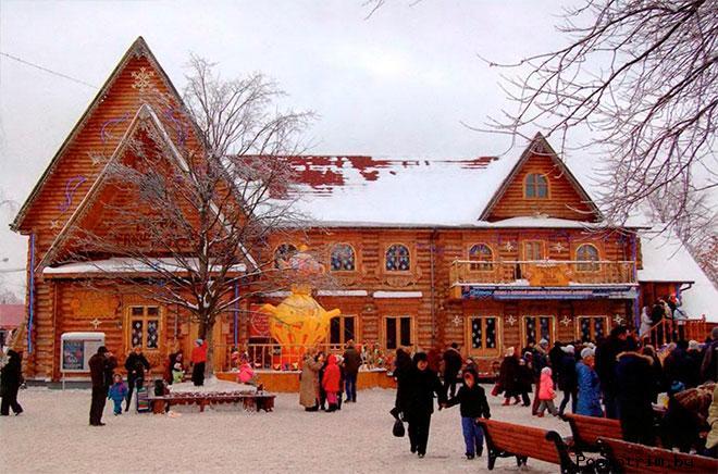 Кузьминки  — московская резиденция Деда Мороза