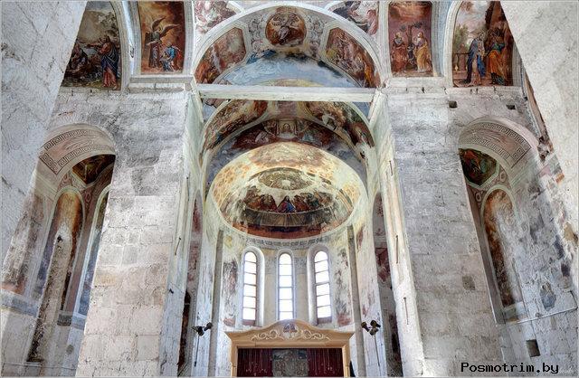 Интерьер Георгиевского собора Юрьев Польского