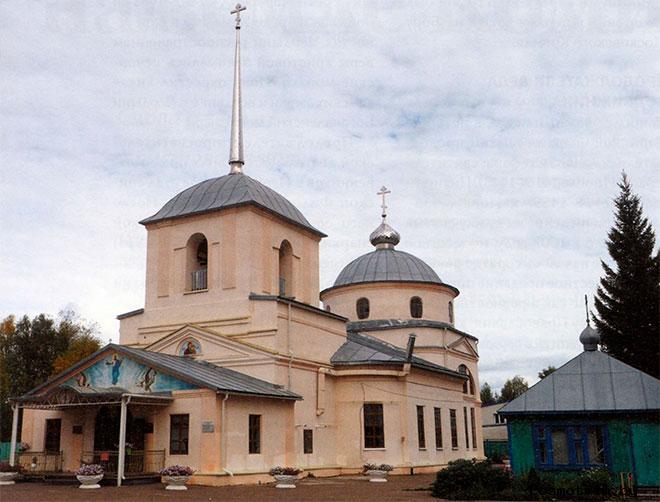 Свято-Вознесенский храм Сыктывкар
