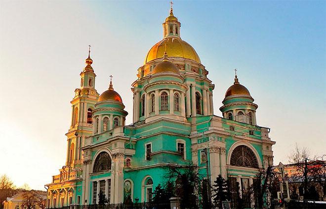 Богоявленский собор Елохово Москва (Елоховский собор)