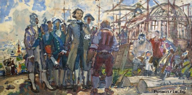 Петр I в Казани