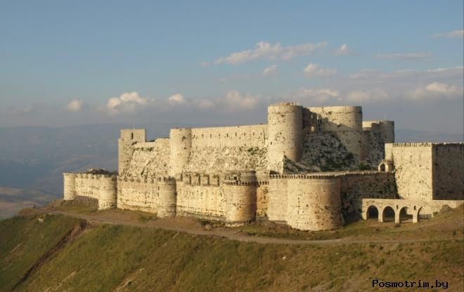 Замок Крак де Шевалье Сирия