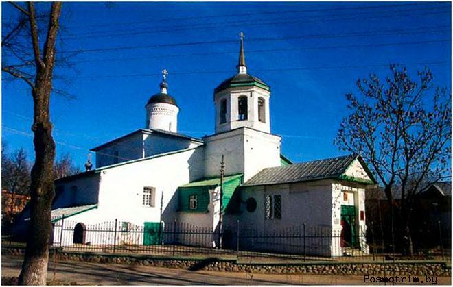 Церковь Ильи Мокрого Псков