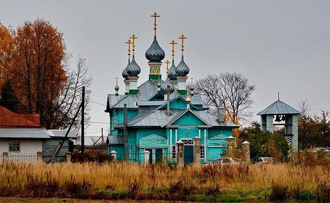 Покровская церковь Стрельниково