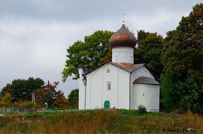 Церковь в Выбутах история