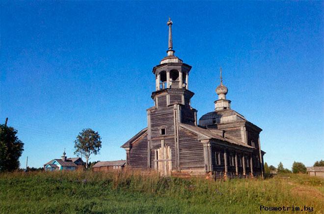 Село Сырья Никольская церковь