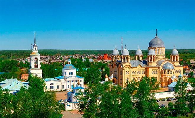 История Верхотурья и кремля в городе Верхотурье