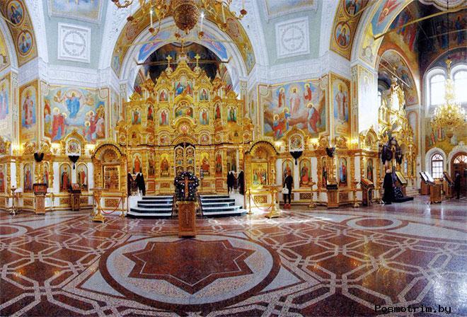 Михаило-Архангельский собор Ижевска внутри