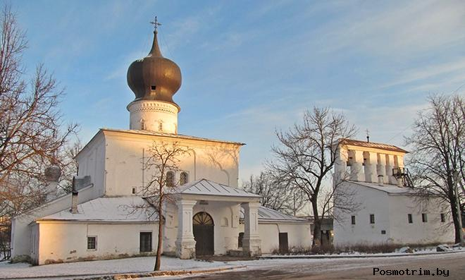 ЦерковьУспения с Пароменья Псков
