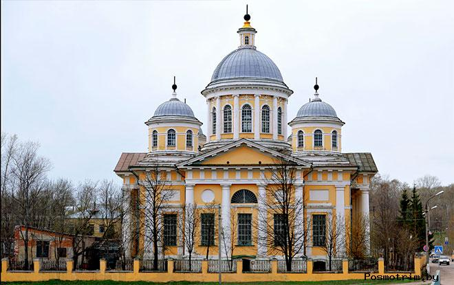 Архитектура Спасо-преображенского собора Торжка