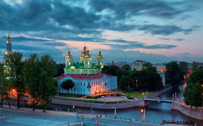 Освящение Морского собора Санкт-Петербурга