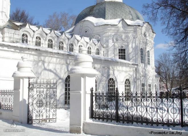 Архитектура церкви Иоанна Предтечи в Кирове