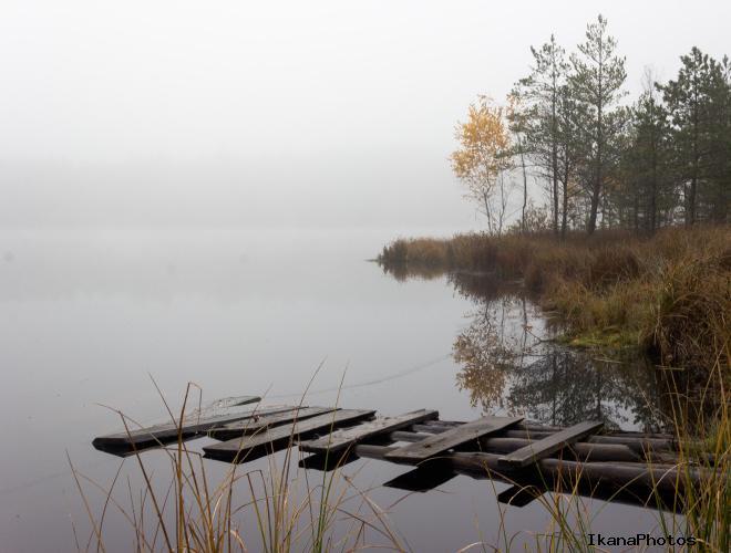 Бездонное озеро под Держинском освободилось от льда