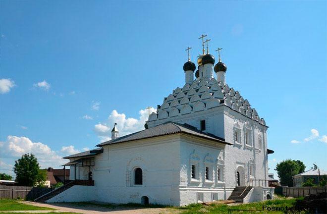 Храм Воскресения Словущего на Посаде Коломна