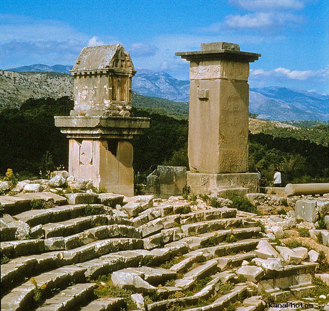 Античное государство Ликия в Турции