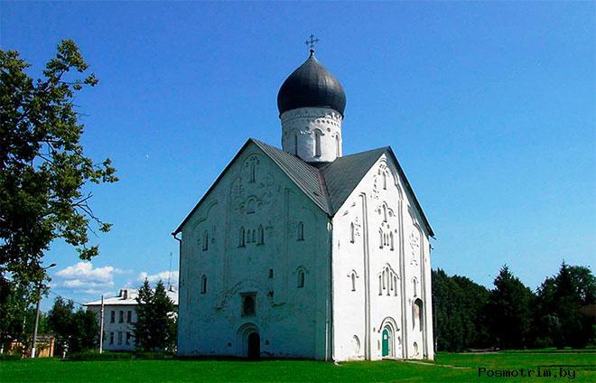 Церковь Спаса Преображения на Ильине улице Новгород