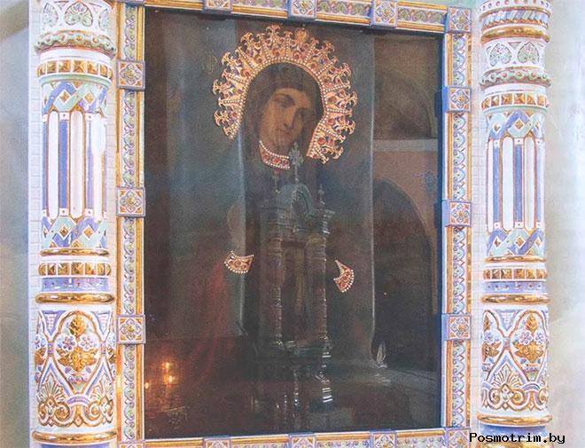 «Страстная» икона Божией Матери Липецкая