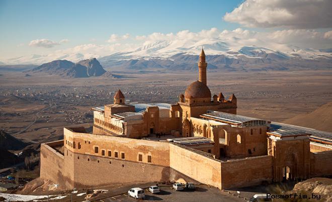 Дворец Исхак Паши Турция