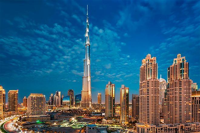 Бурдж-Халифа Дубай (Дубайская башня)